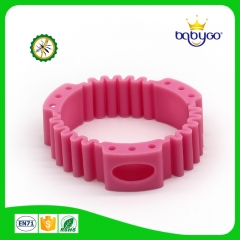 newest flexible silicone mosquito repellent bracelet