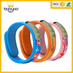 sportable neoprene anti mosquito repellent bracelet